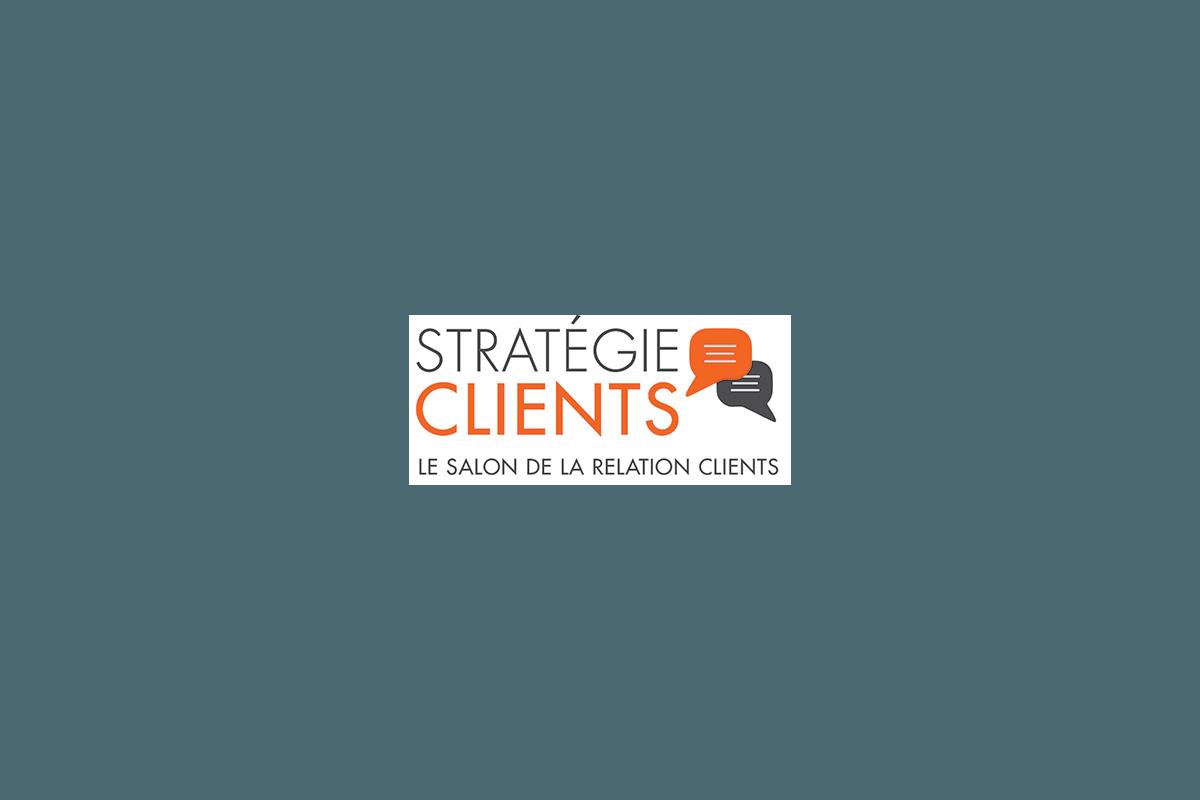 Présence au salon Stratégie Clients les 12, 13 et 14 avril 2016.
